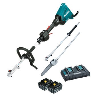 Makita 36V (18V x 2) Brushless Multi-Function Power Head and Pole Saw Kit DUX60PSPT2