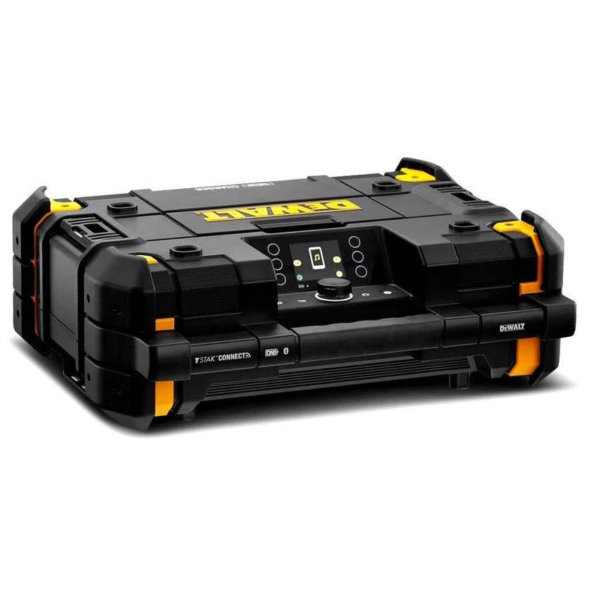 DeWALT 18-54V XR Li-Ion T-Stak Digital Bluetooth Radio & Charger