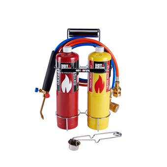 Hot Devil Oxy-Force Blow Torch Kit