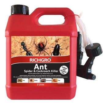 Richgro Ant Spider & Cockroach Killer RTU 2L