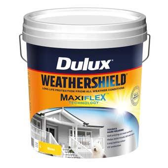 Dulux Weathershield Exterior Gloss Vivid White 15L