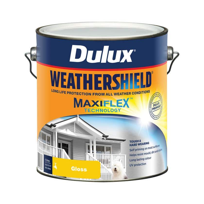 Dulux Weathershield Exterior Gloss Ultra Deep Base 4L