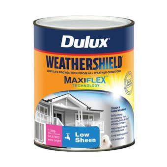 Dulux Weathershield Exterior Gloss Extra Bright Base 1L