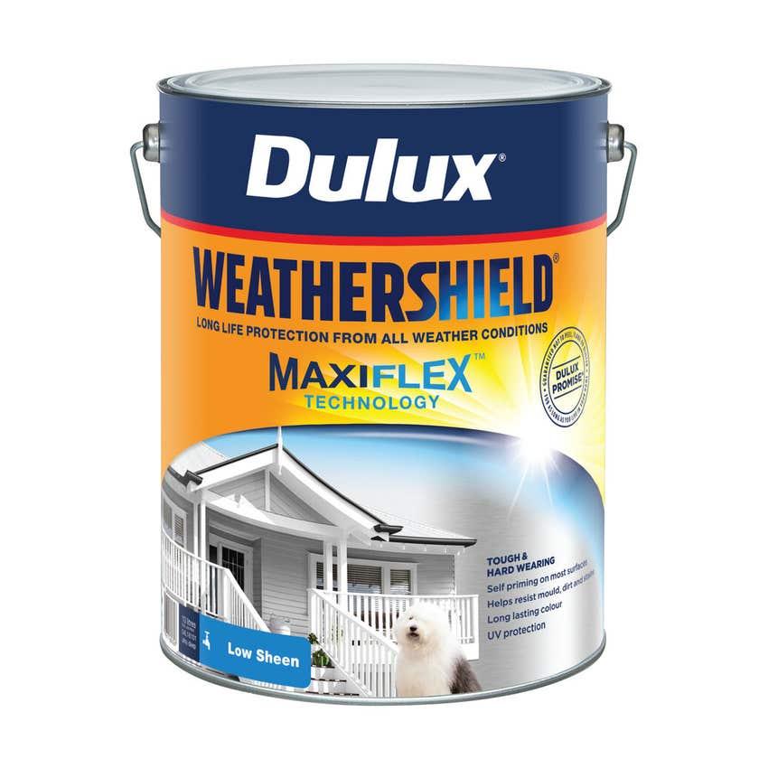 Dulux Weathershield Exterior Low Sheen Ultra Deep Base 10L