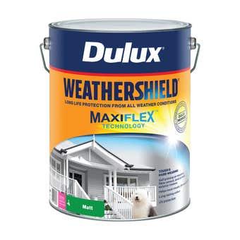 Dulux Weathershield Exterior Matt Extra Bright Base 10L