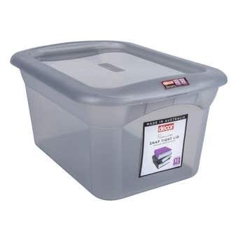 Decor Classique Storage Container Grey 30L