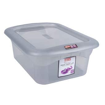 Decor Classique Storage Container Grey 20L