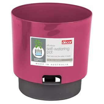 Décor Watermatic Round Pot Watermelon 170mm
