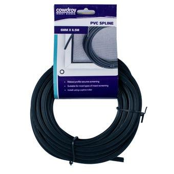 Cowdroy  PVC Spline  6mm x 6.5m