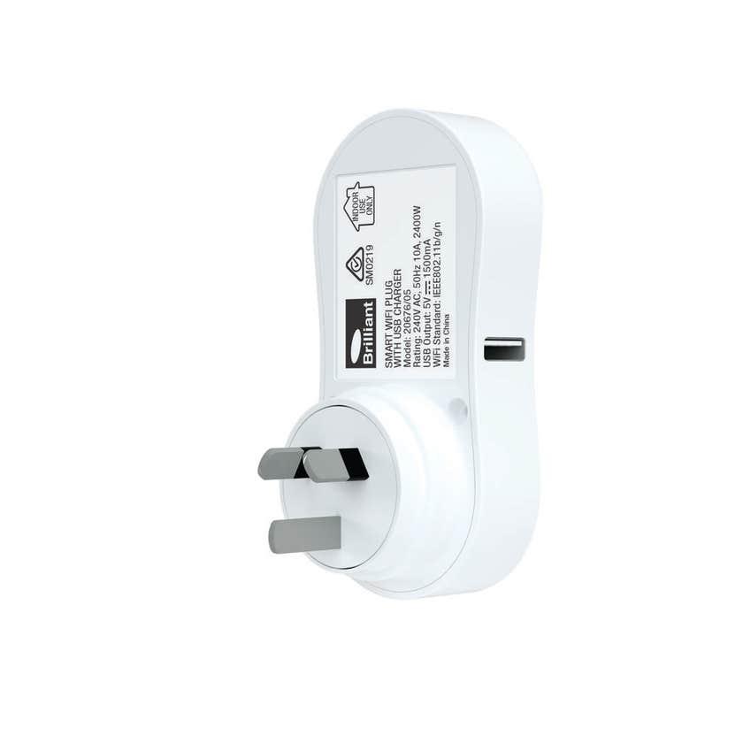 BrilliantSmart Wifi Adaptor Plug with USB Charger Ireland