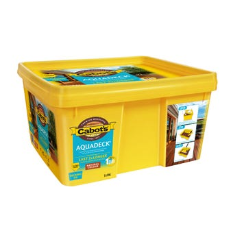 Cabot's Aquadeck Ready Bucket Natural 5L