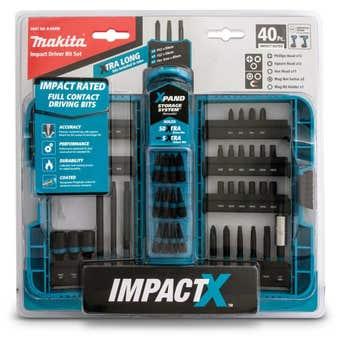 Makita Impact-X Driver Bit Set - 40 Piece