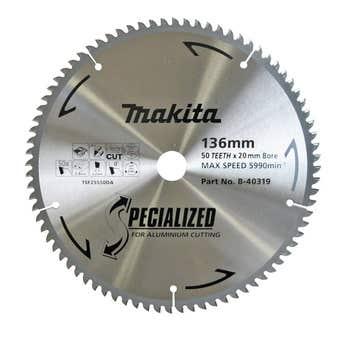Makita TCT Circular Saw Blade 50T 136mm