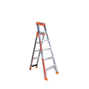 Bailey 6 Step Industrial 3 in 1 Ladder  150kg 1.8m