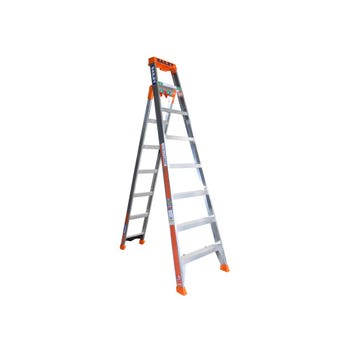 Bailey 8 Step Industrial 3 in 1 Ladder 150kg 2.4m