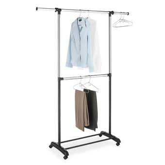 Whitmor 2 Rod Garment Rack