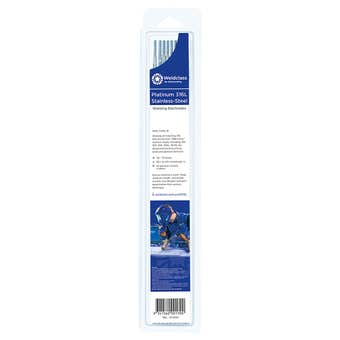 Weldclass Electrodes Stainless-Steel Platinum 316L - 8 Pack
