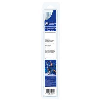 Weldclass Electrodes Cast Iron Platinum NiFe 3.2mm - 9 Pack