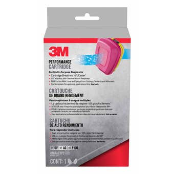 3M Respirator Filter Replacement Cartridge