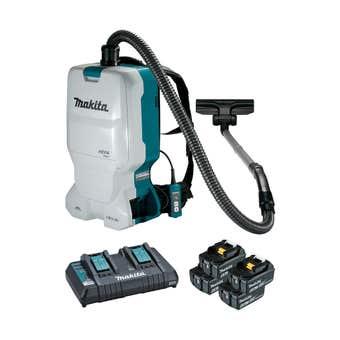 Makita 18V Brushless 4 x 6.0Ah Backpack Vacuum Kit DVC660G4X1