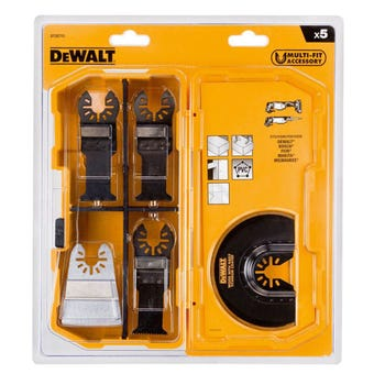 DeWALT Multi-Tool Wood/Nails Blade Set - 5 Piece