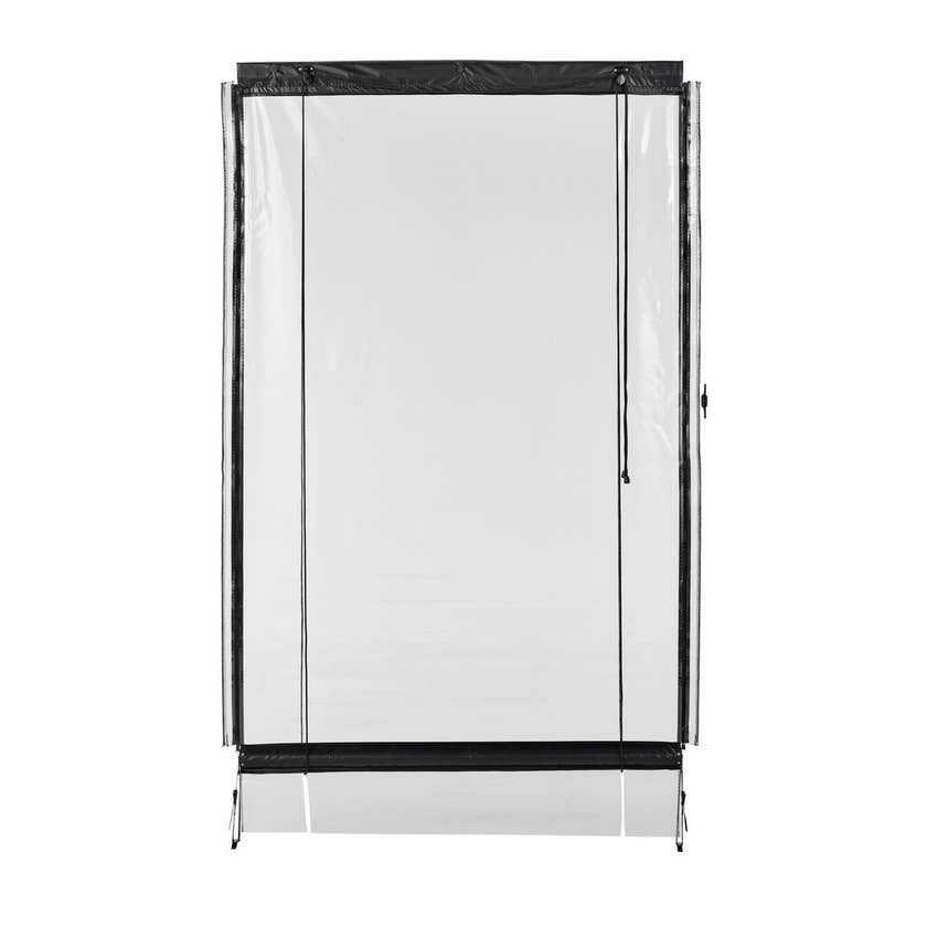 Portico Blind Joiner Clear 100mm - 1 Pack