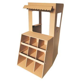 Shop Front Cardboard Cubby House
