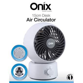Onix Desk Air Circulator 15cm
