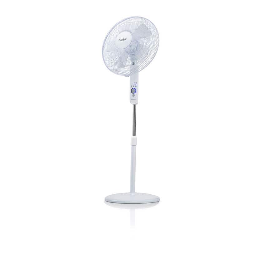 Goldair WiFi Pedestal Fan White 40cm