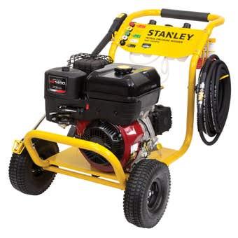 Stanley 9HP 4 stroke Briggs & Stratton Engine Petrol Pressure Washer 3600PSI