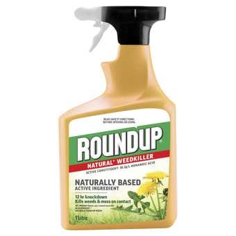 Roundup Natural Weed Killer Spray 1L