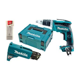 Makita 18V Brushless High Speed Screwdriver Skin DFS452ZJX2
