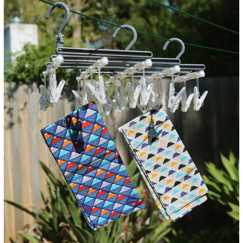 Collapse-A-Peg Peg Airer Small 19 Pegs