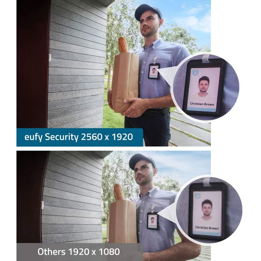 Eufy Wireless Video Doorbell 2K with Homebase 2