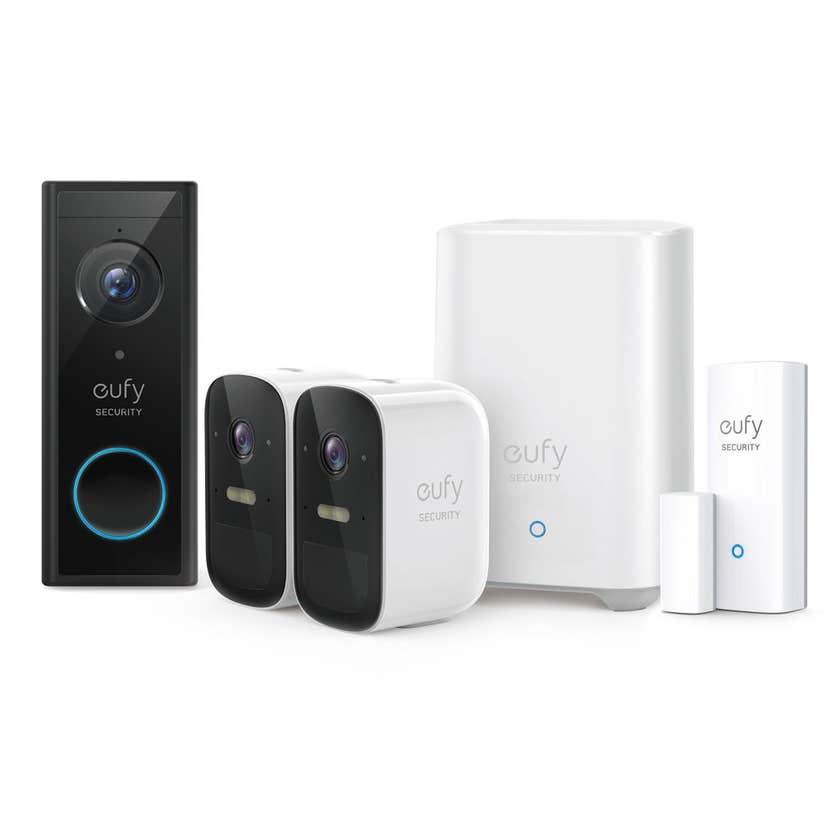 Eufy 2 Camera Doorbell & Sensor Bundle