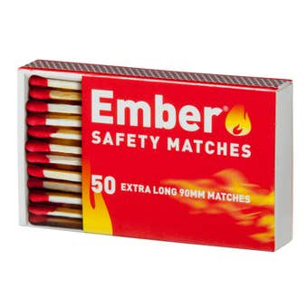 Ember Matches 90mm - 50 Pack