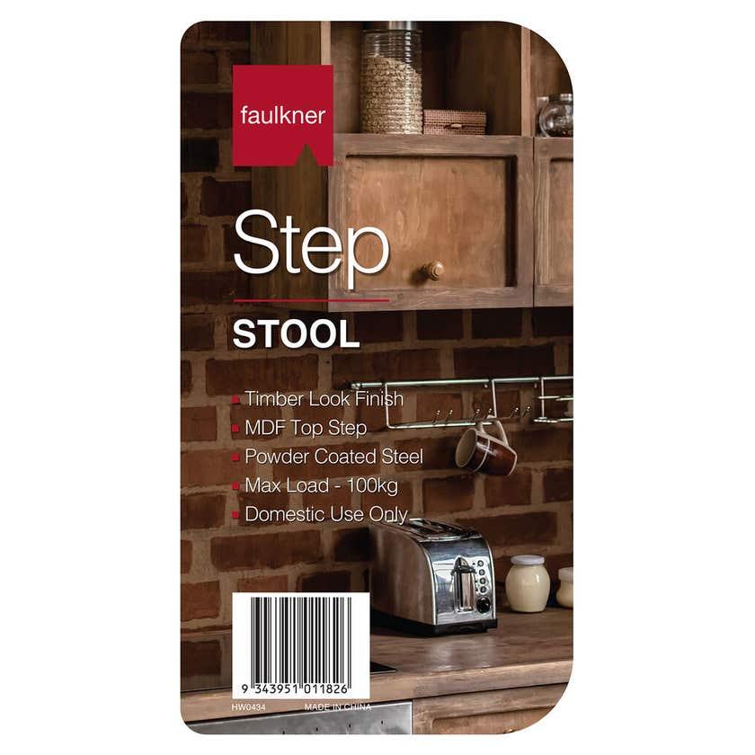 Faulkner™ Step Stool Square Top