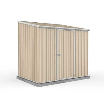 Absco Eco-Nomy Shed Skillion Roof W2.26 x D1.52 x H2.06m