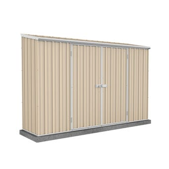 Absco Eco-Nomy Shed Skillion Roof W3.0 x D0.78 x H1.95m