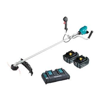 Makita DUR369APG2 36V (18V x 2) Brushless U-Handle Line Trimmer Kit
