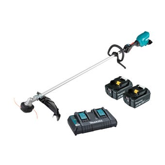Makita 36V (18V x 2) Brushless Loop Handle Line Trimmer Kit DUR369LPG2