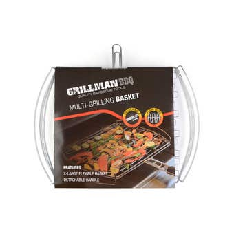 Grillman Multi Grill BBQ Basket with Flexible Grid