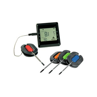 Grillman Bluetooth 4 Probe BBQ Thermometer