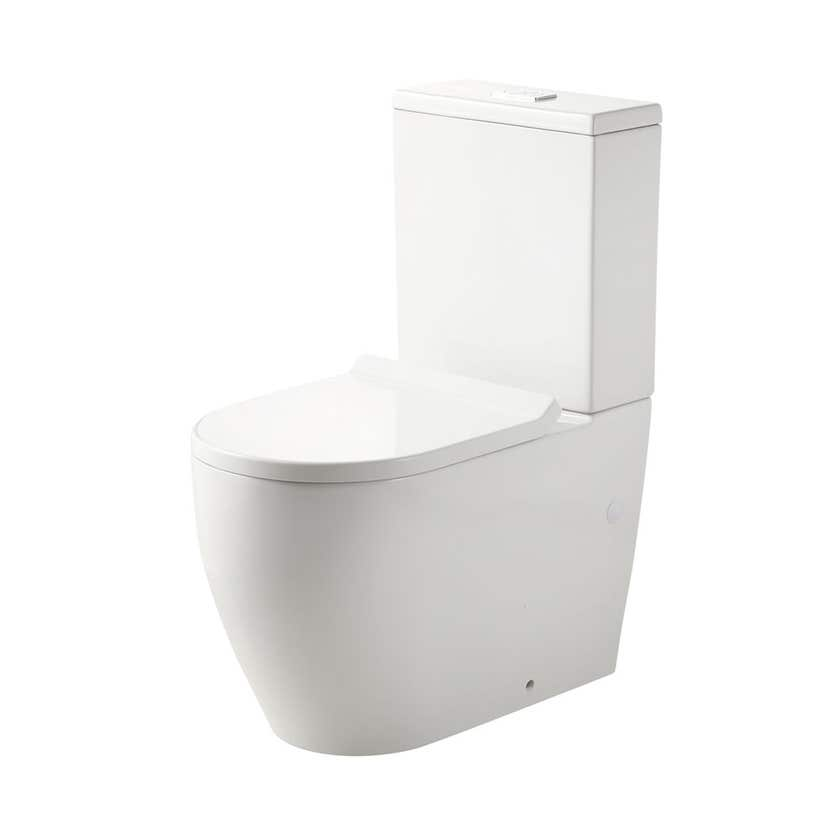 Oliveri Naples Back to Wall Toilet Suite White