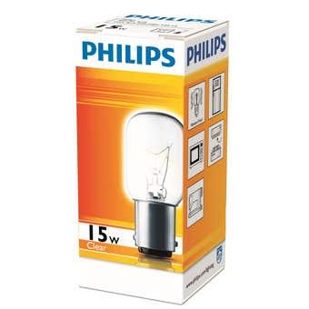 Philips Appliance Globe 15W SBS T22 Clear Pilot