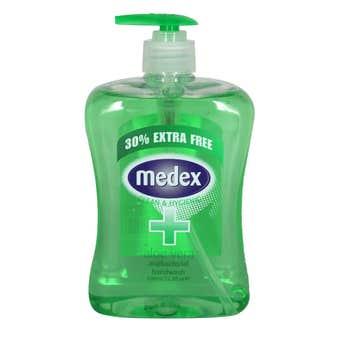 Medex Handwash Antibacterial Aloe Vera 650ml