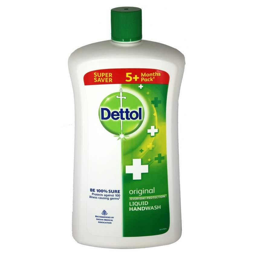 Dettol Original Antibacterial Handwash Refill 900ml