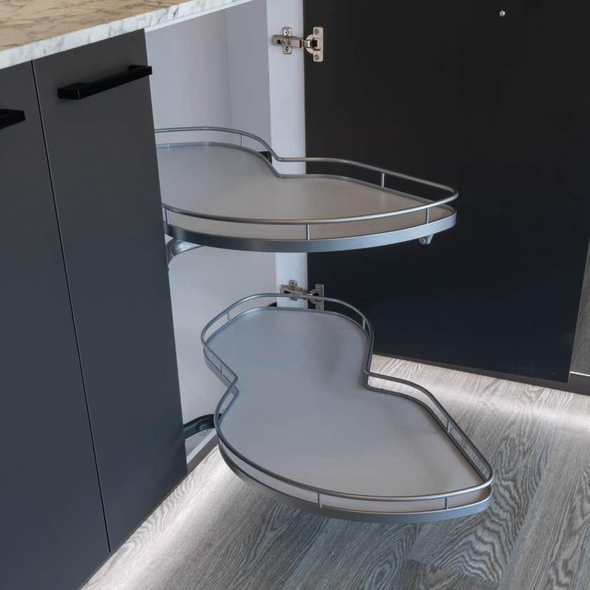 Cabinet Blind Corner with Le Mans Left Hand 450mm