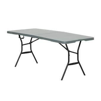 Lifetime Light Commercial Bi-fold Blow Mould Table 1.8m