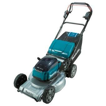 Makita 36V (18V x 2) Brushless Self-Propelled Lawn Mower 534mm Skin